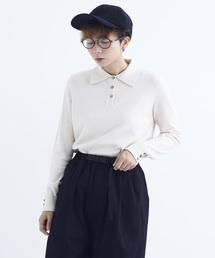 merlot(メルロー)のボタンポロシャツ6585(ポロシャツ)