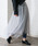 &g'aime(アンジェム)の「【&g'aime】2WAY/ドットチュールアシメボリュームスカート(スカート)」|詳細画像