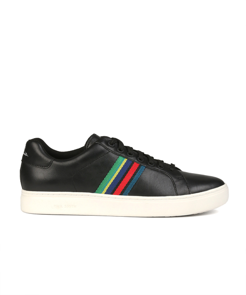SPORTS STRIPE LEATHER SNEAKER / 280829 LAPI
