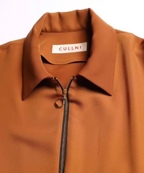 2019春夏 ジップアップポケットシャツ