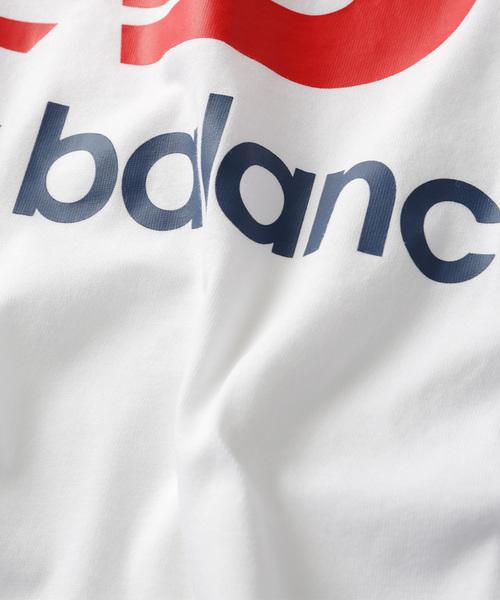 WEB限定 New Balance/ニューバランス エッセンシャルスタックド Tシャツ