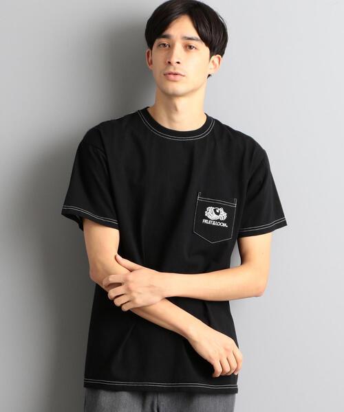 別注 [フルーツオブザルーム]SC FRUIT GLR ロゴ ポケットTシャツ