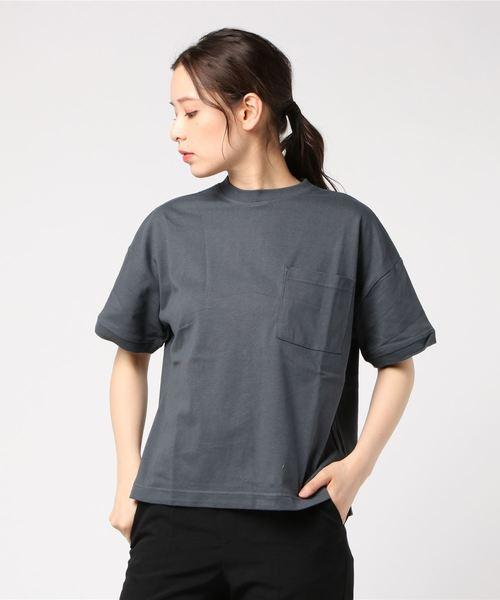 ZERO STAIN ポケ付Tシャツ
