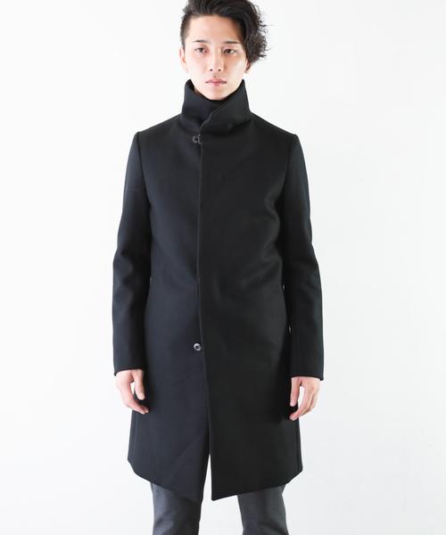 最新 カシミア混平二重メルトン スタンドカラーコート(その他アウター) ATTACHMENT(アタッチメント)のファッション通販, 西原村:bb257d08 --- 5613dcaibao.eu.org