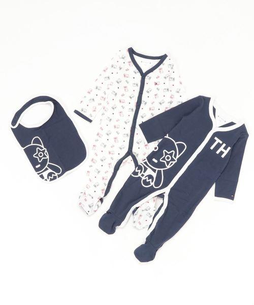 一番人気物 Baby マスコットギフトボックス(ロンパース) TOMMY TOMMY HILFIGER(トミーヒルフィガー)のファッション通販, 田野畑村:7bbc88bf --- fahrservice-fischer.de