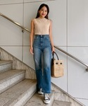 Vicente | Vicente highwaist buggy denim(デニムパンツ)