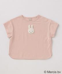 petit main(プティマイン)の【miffy】モチーフTシャツ(Tシャツ/カットソー)