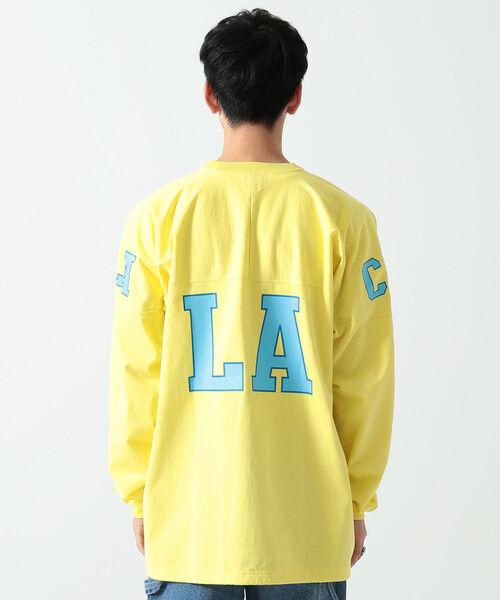 BEAMS / ルーズ フットボールTシャツ