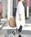 coca(コカ)の「ロング丈ゆったりシルエットシャツワンピ—ス(シャツワンピース)」|詳細画像