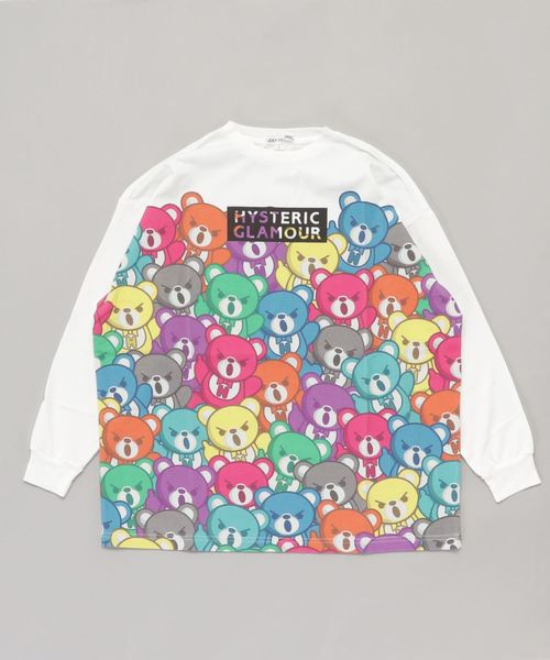 BEAR CARNIVAL pt ビッグTシャツ【L】