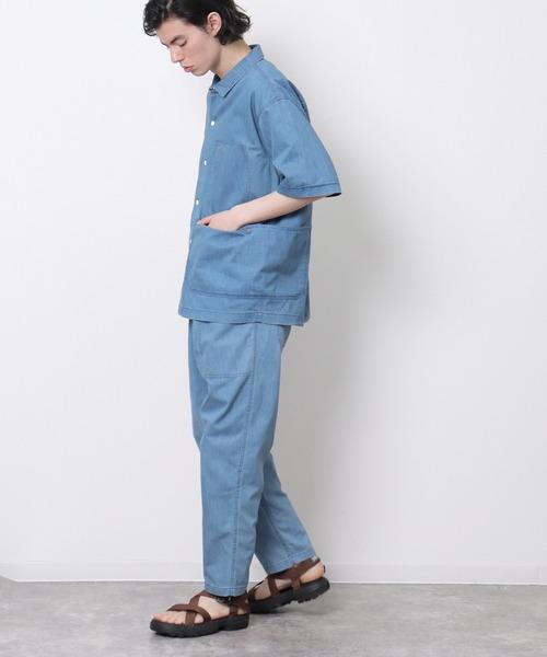 【 WILD THINGS / ワイルドシングス 】シェルテック ビッグポケットシャツ / SHELTECH BIG POCKET SHIRT WT21010SG・・