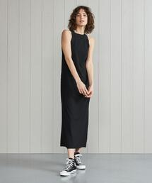 <H>MELLOW TANK TOP DRESS/ワンピース