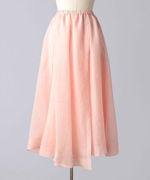 < BLAMINK(ブラミンク)> MS SI WAIST RUB GATH スカート