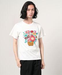 ALDIES(アールディーズ)のVase Embroidery T / ベースエンブロイダリーT(Tシャツ/カットソー)