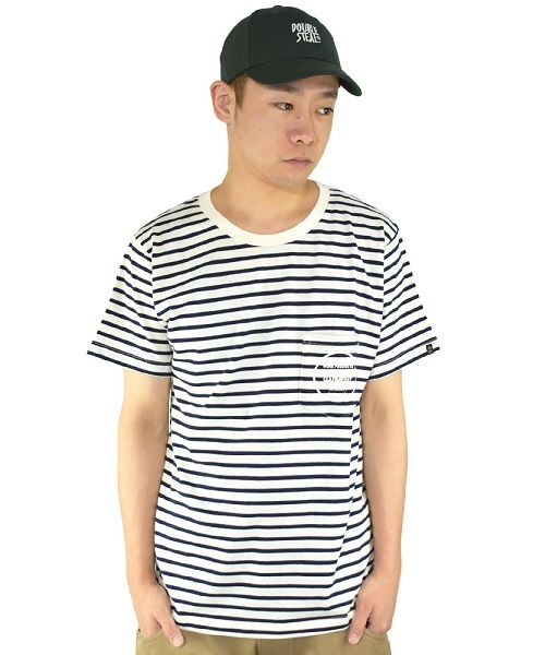 Pocket Border Tシャツ