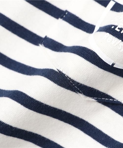 Pocket Border Tシャツ