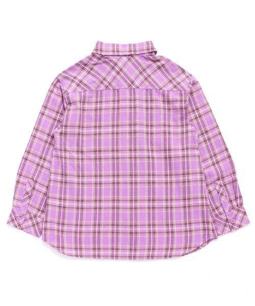 パステルチェックシャツ