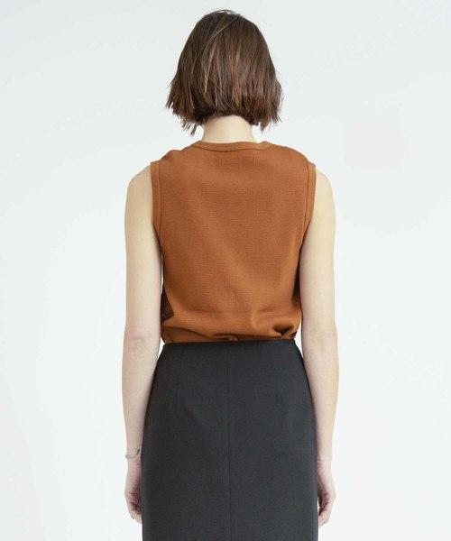 ワッフルノースリーブTシャツ