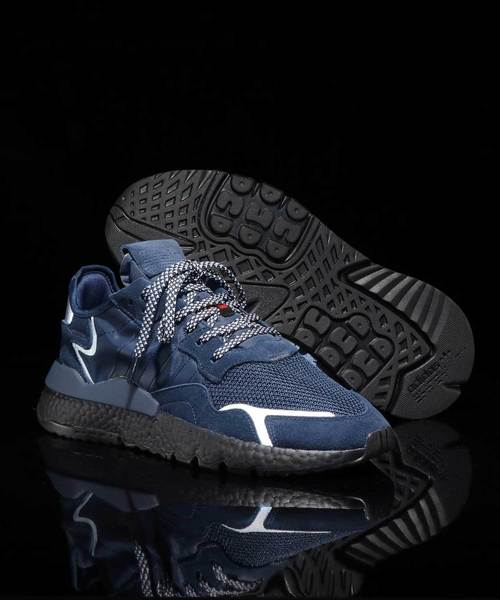 adidas(アディダス)の「adidas Originals NITE JOGGER (COLLEAGE NAVY/COLLEAGE NAVY/CORE BLACK)(スニーカー)」|ネイビー