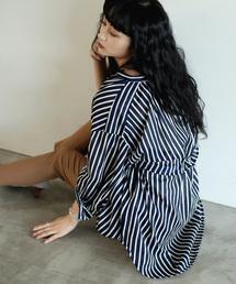 Bou Jeloud(ブージュルード)の程良い丈感◆キャンブリックシャツチュニック(シャツ/ブラウス)