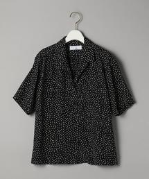 <PHEENY>ドットオープンカラーシャツ Ψ