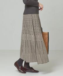 <TORRAZZO DONNA>●リバーシブル ロングニットスカート