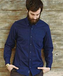 MORGAN HOMME(モルガンオム)のデニムライクシャツ(シャツ/ブラウス)