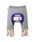 HOT BISCUITS(ホットビスケッツ)の「裾レッグウォーマー風ベビーパンツ(ベビー用品)」|グレー