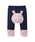 HOT BISCUITS(ホットビスケッツ)の「裾レッグウォーマー風ベビーパンツ(ベビー用品)」|ホワイト×ネイビー