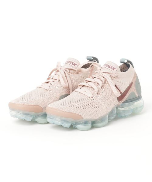 quality design 62108 59eb0 NIKE(ナイキ)の「NIKE W AIR VAPORMAX FLYKNIT 2 (PARTICLE BEIGE
