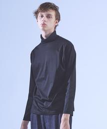 ABAHOUSE(アバハウス)のベア天タートルネックTシャツ(Tシャツ/カットソー)