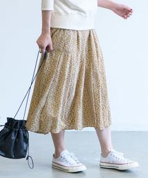 Aunt Marie's(アントマリーズ)のAUNT MARIE'S FLOWERマーメイドラインスカート(スカート)