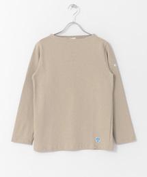 ORCIVAL(オーシバル)のORCIVAL COTTON LOURD フレンチバスクシャツ(Tシャツ/カットソー)