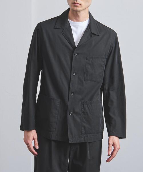 <UNITED ARROWS> ギャバジン ボイル シャツ ジャケット