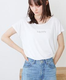 Social GIRL(ソーシャルガール)のシンプルベーシックUネックTシャツ(Tシャツ/カットソー)