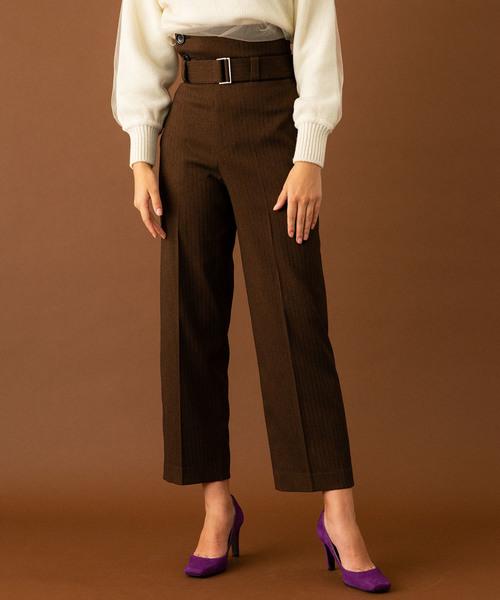 開店祝い TOKYOヘリンボンテトラベルトパンツ(パンツ)|UNITED TOKYO(ユナイテッドトウキョウ)のファッション通販, イツキムラ:d5101d6f --- blog.buypower.ng