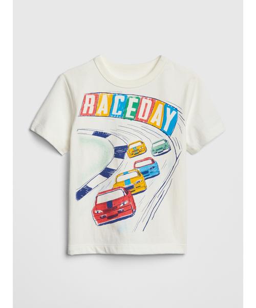 グラフィック半袖Tシャツ