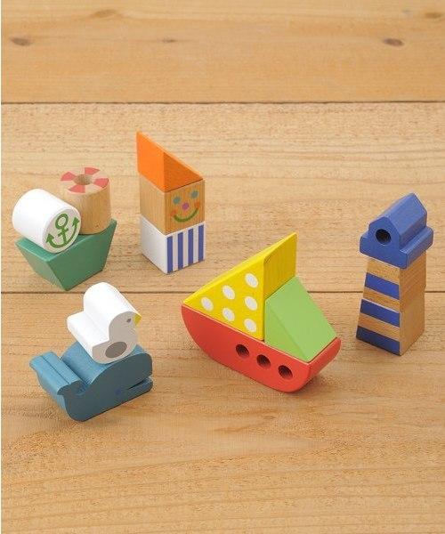 IDEA(イデア)の「積み木マリンパーク(おもちゃ)」|カラフル
