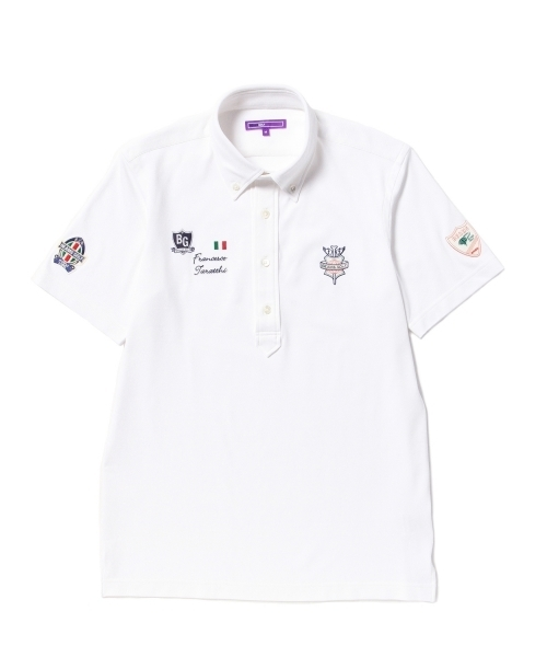 c06093e778e44 BEAMS GOLF(ビームスゴルフ)のBEAMS GOLF PURPLE LABEL / タラッティー ボタンダウンポロシャツ