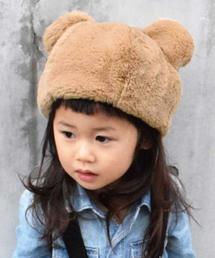 GRIN BUDDY(グリンバディ)の【GRIN BUDDY(グリンバディ)】アニマルモチーフのファー帽子/Animal Fur Hat(キャップ)