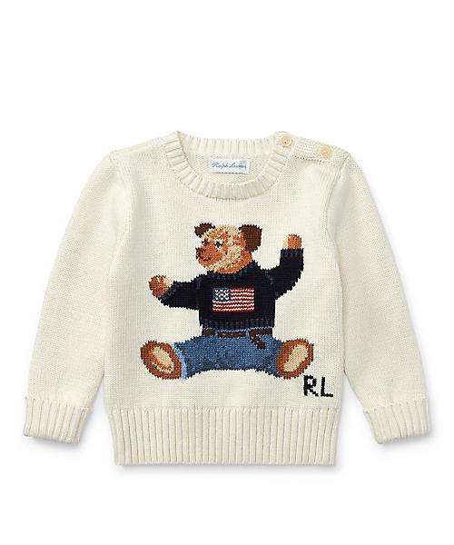 0a01936419029a ... トップス · ニット/セーター; アイテム詳細. Polo Ralph Lauren Childrenswear(ポロラルフローレンチャイルドウェア)の「Polo  ベア コットン