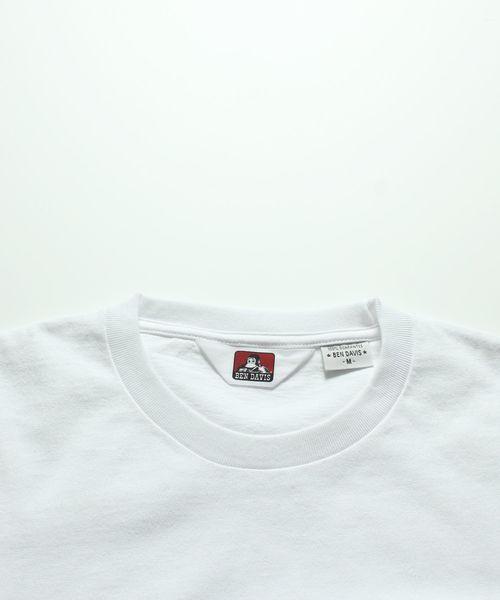【 BEN DAVIS ( ベンデイビス ) 】バックロゴプリント 半袖Tシャツ