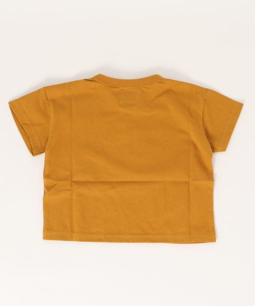 空紡糸天竺半袖Tシャツ NAVY(80~160cm)