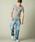 London Denim(ロンドンデニム)の「スパンデックス フライス ストレッチ クルーネック 半袖 Tシャツ(Tシャツ/カットソー)」|詳細画像