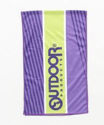 スーパークールタオル/濡らして振れば冷たくなるクールタオルパープル