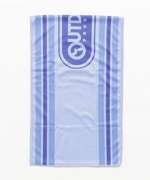 スーパークールタオル/濡らして振れば冷たくなるクールタオルブルー
