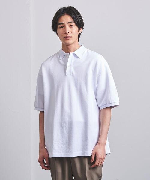 <UNITED ARROWS> カノコ ビッグ ポロシャツ