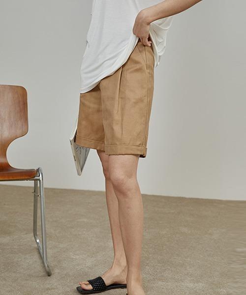 【chuclla】linen short pants sb-4 chw1209