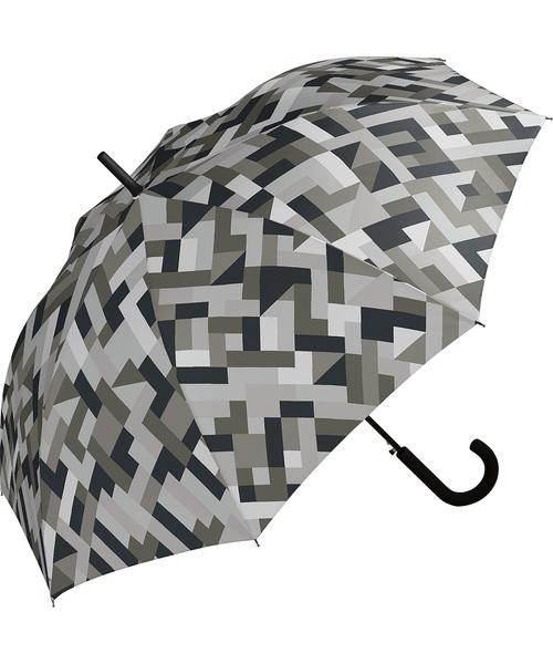 Wpc.(ダブルピーシー)の「雨傘 UNISEX JUMP【2】(長傘)」|グレー
