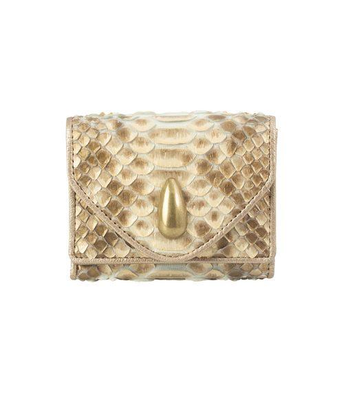 限定版 ダイヤモンドパイソン財布(三つ折りミニ)(財布)|TOFF&LOADSTONE(トフアンドロードストーン)のファッション通販, 備前市:5ee734f0 --- hundeteamschule-shop.de